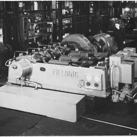 Type 'L10' Three-Throw Horizontal Pump Photo 3375   Fielding & Platt c.1939