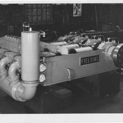 Type 'H8' Three-Throw Horizontal Pump Photo 3968   Fielding & Platt c.1944