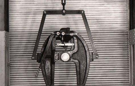 "25 ton Hinged Type Rivetter, 21"" Gap, O/No. 5024, c.1945"