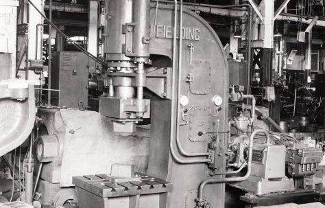 200 ton Open Gap General Purpose Press  (for Malta), O/No. 4992, c.1944