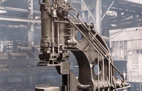 120 ton Flanging Press (artist's highlight), O/No. 4906, c.1944