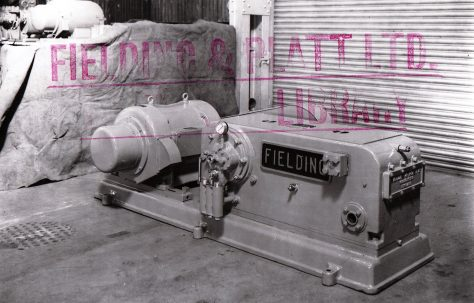 H3 Pump with Motor and Chain Drive, O/No. 4872, c.1944