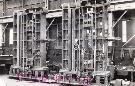 220 ton Vertical Plate Bender, O/No. 4868, c.1945