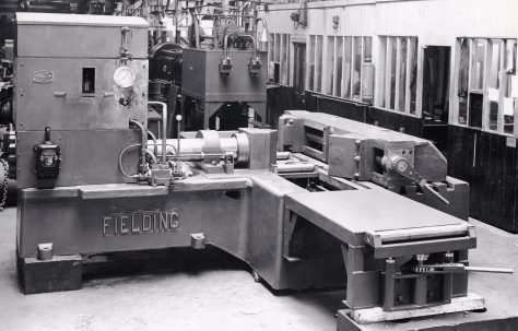 "120 ton Horizontal Bending & Straightening Press, 18"" Stroke, with Towler pumps, O/No. 5061, c.1945"
