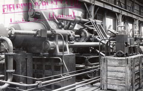 720 ton Horizontal Extrusion Press, O/No. 5019, c.1945