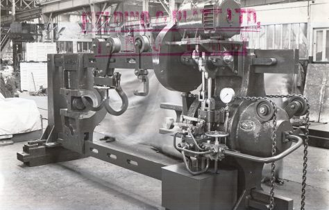 300 ton Wheel Press, O/No. 5195, c.1945
