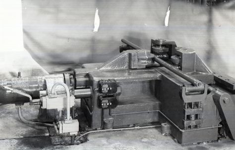 80 ton Pipe Bender, view taken in the Pipe Shop, O/No. 4791, c.1944