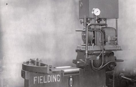 80 ton Rail Bender with Fraser Mono-Radial Pump, O/No. 5326, c.1946