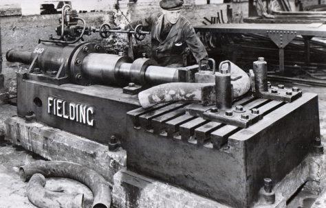 A 'Fielding' Pipe Bender, c.1947