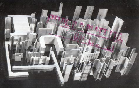 Extruded Aluminium Sections, c.1948
