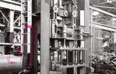 60 ton Glass Moulding Press, O/No. 5454, c.1946