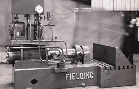 40 ton Pipe Bender, O/No. 5579, c.1946