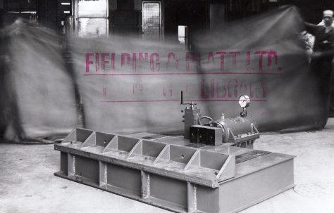 10 ton Spring Cambering Press, O/No. 5809, c.1947
