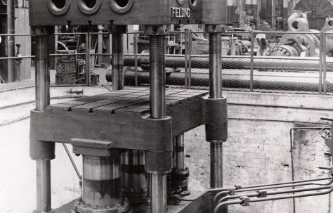 600 ton Upstroking Forging Press, O/No. 5741, c.1947