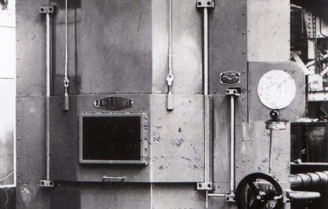 3000 ton Hobbing Press, O/No. 5686, c.1947