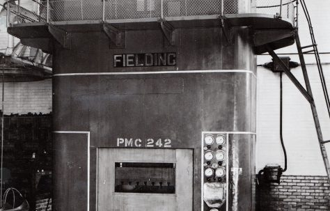625 ton Triple-Action Press, views taken on site, O/No. 5388, c.1946