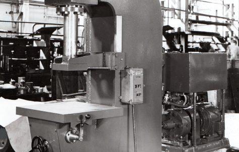 15 ton Open Gap Forcing Press, O/No. 5804, c.1947