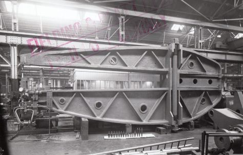 100 ton Tower Rivetter with 'Loca' type head, O/No. 5708, c.1947