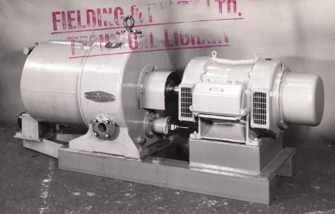 B2 Radial Pump, with motorised control, O/No. 6252, c.1949