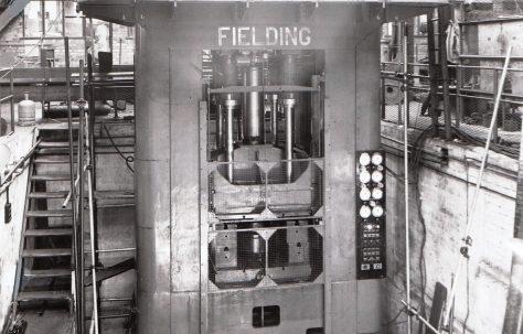 450 ton Triple-Action Deep Drawing Press, O/No. 5740, c.1947