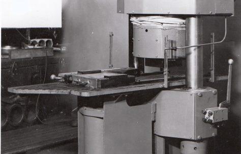120 ton Two-Station Tile Press, O/No. 5956, c.1948