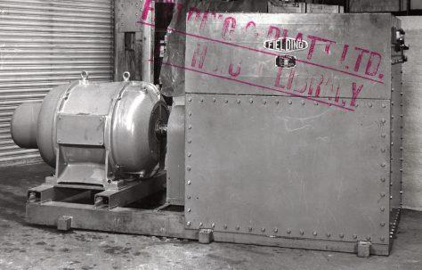 4 - Stage Radial Pump, O/No. 5958, c.1948