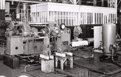 400 ton Horizontal Extrusion Press, O/No. 5498, c.1946