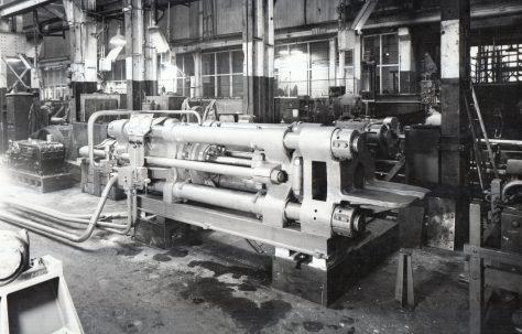 600 ton Horizontal Extrusion Press, c.1948
