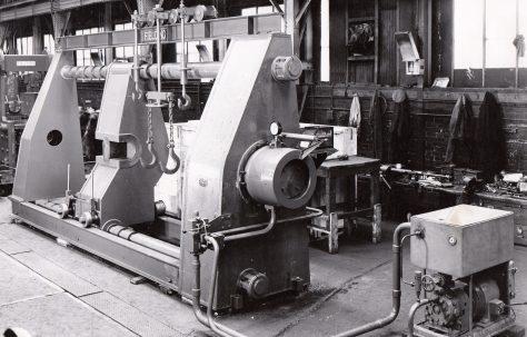 400 ton Self-Contained Wheel Press, O/No. 6121, c.1947
