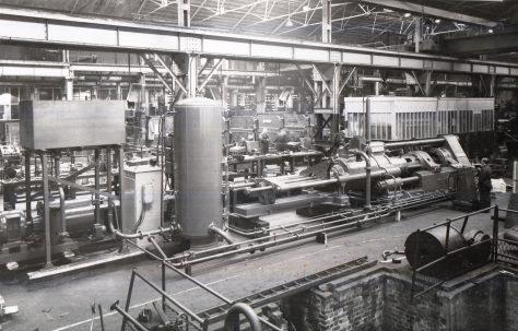 900 ton Carbon Extrusion Press, O/No. 6103, c.1948