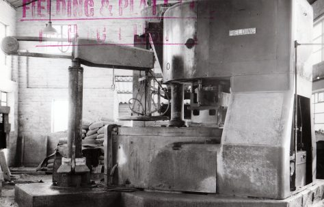 400 ton Slab Press, views taken on site, O/No. 5891, c.1947