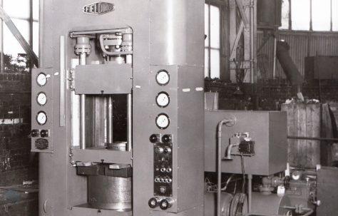 75 ton Double-Acting Deep Drawing Press, O/No. 6173, c.1949