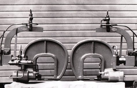 Rivetters manufactured by Goninan, O/No. 6149, c.1949