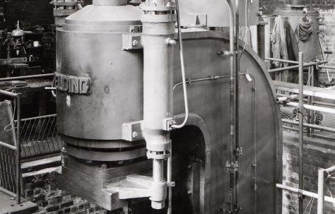 300 ton Forging Press, O/No. 6111, c.1948