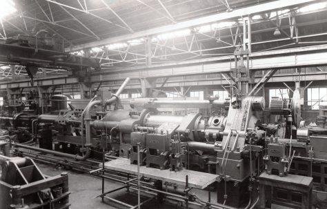 1000 ton Horizontal Extrusion Press, O/No. 6094, c.1949