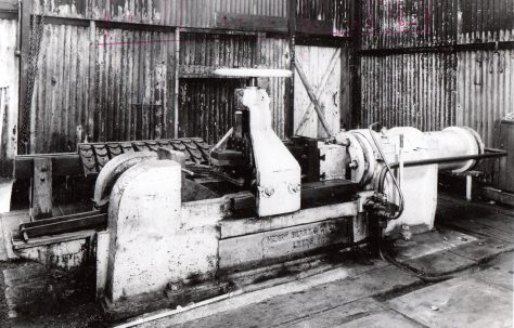 Henry Berry Spring Buckle Stripping Press, views taken on site, c.1948