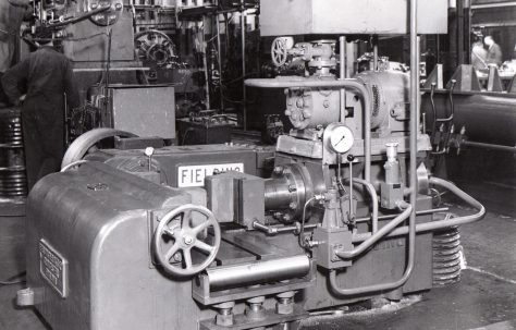 50 ton Horizontal Bender & Straightener, O/No. 6417, c.1949