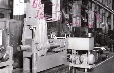 80 ton Expanding & Reducing Press, O/No. 6342, c.1949