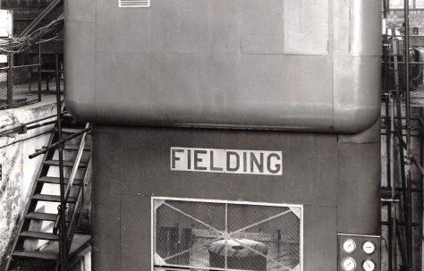 1000 ton Hydraulic Press, with guard, O/No. 6243, c.1949