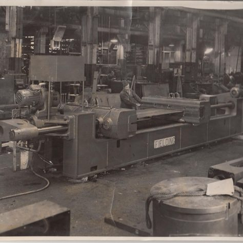 Straightening press | Fielding and Platt photo no. 4496
