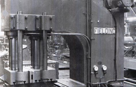 300 ton Flanging Press, O/No. 5298, c.1949