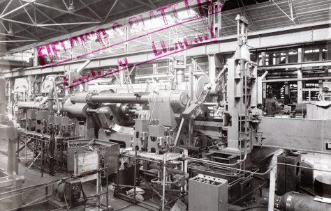 2000 ton Horizontal Extrusion Press, views taken during erection and on site, O/No. 6404, c.1949