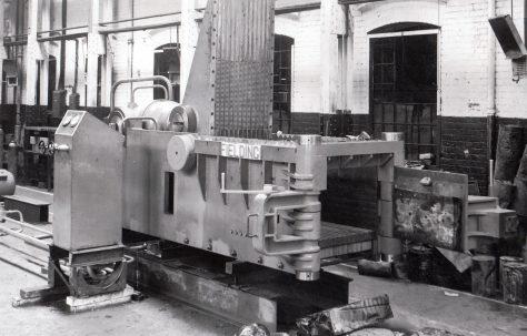 Single Compression Scrap Metal Baler, O/No. 6610, c.1950