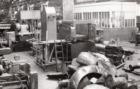 Scrap Metal Baler, O/No. 6764, c.1950