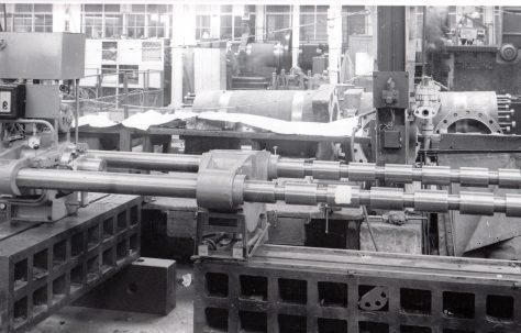 140 ton Wheel Press, O/No. 6756, c.1950