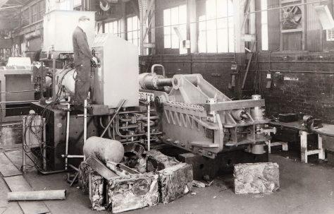 Type SCB3 Scrap Metal Baler, O/No. 6713, c.1950