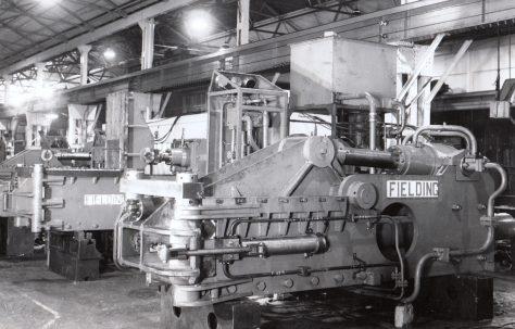 Number 2 Baler, Type SCB3 Scrap Metal Baler, O/No. 6713, c.1950