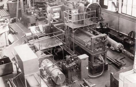 Triple Compression Scrap Baler, O/No. 6748, c.1950
