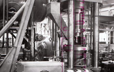 400 ton Briquetting Press, O/No. 3140, c.1951