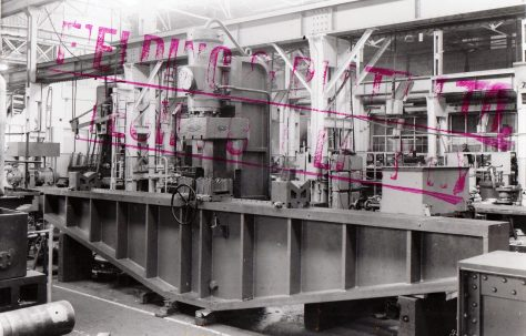 Gun Straightening Press, O/No. 3640, c.1952